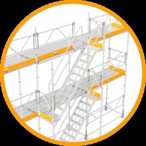 Lightweight-stairtower